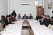 Başkan Tollu, eczacıların sorunlarını dinledi