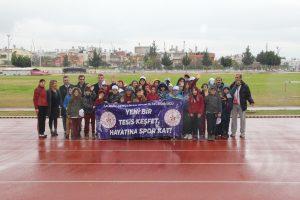 Mersin'de 'Yeni Bir Tesis Keşfet, Hayatına Spor Kat Projesi' başladı