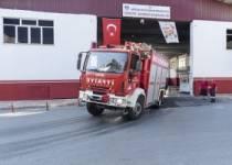 Yangın bölgelerine araç ve personel gönderildi
