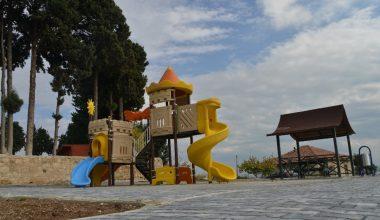 Akdeniz Belediyesi'nden 3 bin metrekarelik yeni park