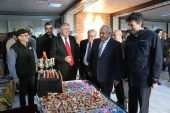 Başkan Tollu, Kitap Günlerini ziyaret etti