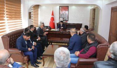 Başkan Tollu, kurum müdürleriyle bir araya geldi