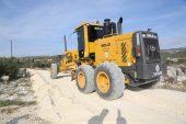 Erdemli'de asfalt çalışmaları aralıksız sürüyor