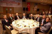 Gazeteciler onuruna akşam yemeği düzenlendi