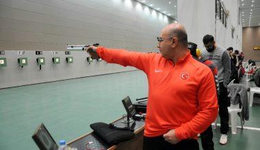 Havalı Silahlar Türkiye Kupası Mersin'de başladı