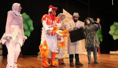 Mersin'de 'Bremen Mızıkçıları' adlı oyun sahnelendi