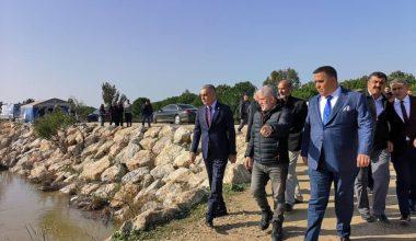 Mersin'de sulama kanalına düşen müdür yardımcısı Nihat Kaylı'yı arama çalışmaları sürüyor
