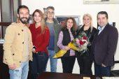 Müdür Sertoğlu'ndan İHA'ya 10 Ocak ziyareti