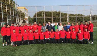 TFF Grassroots C Antrenör Kursu Mersin'de devam ediyor