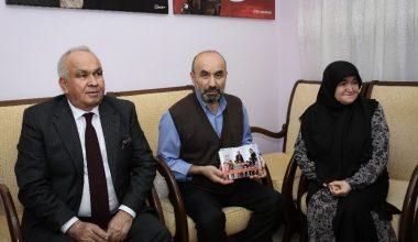 Tollu'dan Şehit Özalkan'ın ailesine kreş fotoğrafları albümü
