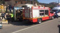 Silifke ilçesinde tarım işçilerini taşıyan otobüs devrildi: 5 ÖLÜ