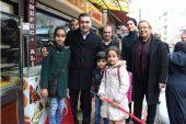 Cumhur İttifakı Yenişehir'i adım  adım geziyor