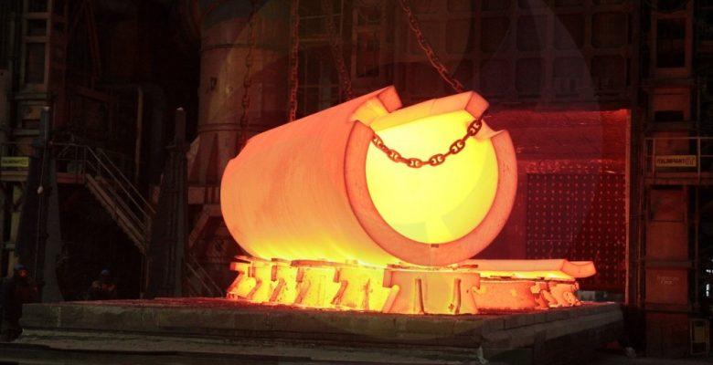 Akkuyu NGS'nin ilk reaktörünün basınç tankının tabanını Atommash üretti