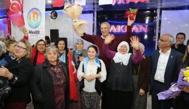 Başkan Tarhan, kadın üreticilerle bir araya geldi