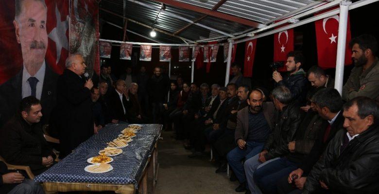 Başkan Tollu, Koramşalı ve Çerçili mahallelerini ziyaret etti