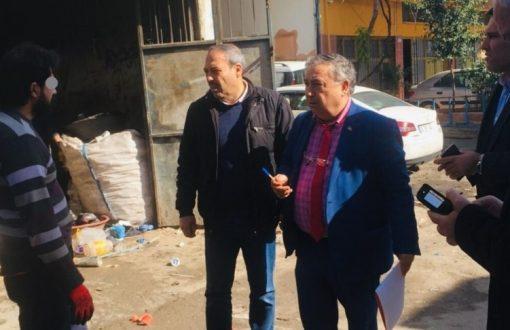 Çöp depocuları ve hurdacılara