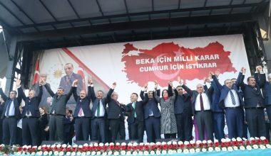 Cumhur İttifakının Mersin'deki belediye başkan adayları tanıtıldı