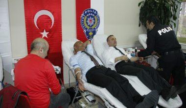 Emniyetten kan bağışı desteği