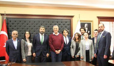 Mersin Barosu ile Mezitli Belediyesi ortak projelere devam edecek