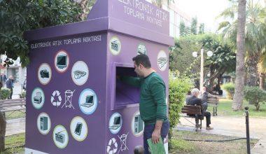 Mersin Büyükşehir Belediyesi'nden çevreci belediyecilik örneği