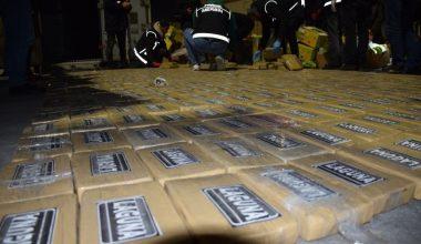 Mersin'de dev uyuşturucu operasyonu