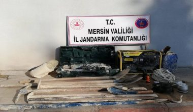 Silifke'de izinsiz kazı yapan 5 kişi suçüstü yakalandı