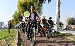 """Tuna: """"Güvenli bisiklet ve yaya yolları yapacağız"""""""