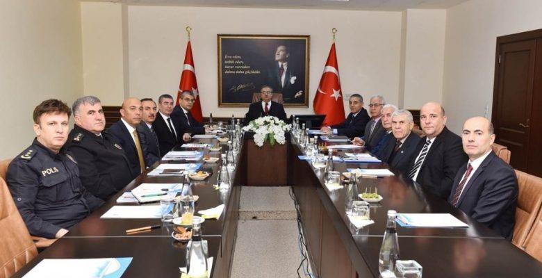 Yükseköğretim Güvenliği Koordinasyon ve İşbirliği Toplantısı yapıldı