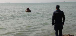 Dereye düşen Hediye denizde aranıyor