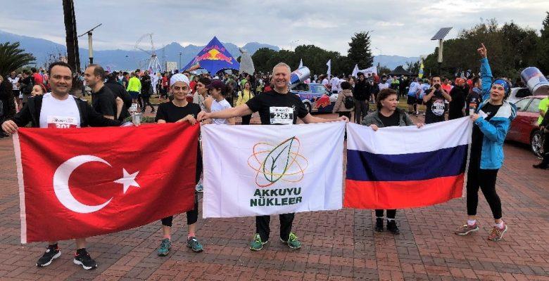Akkuyu NGS çalışanları 'Runatolia-2019 Maratonu'na katıldı