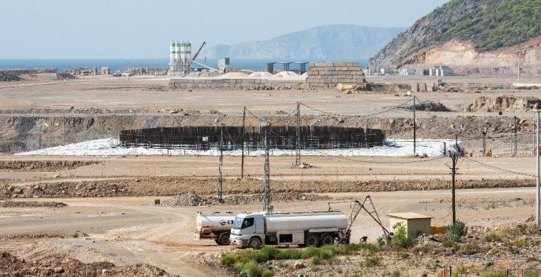 Akkuyu NGS'de 1'inci güç ünitesinin temel plakasının beton dökme çalışmaları tamamlandı