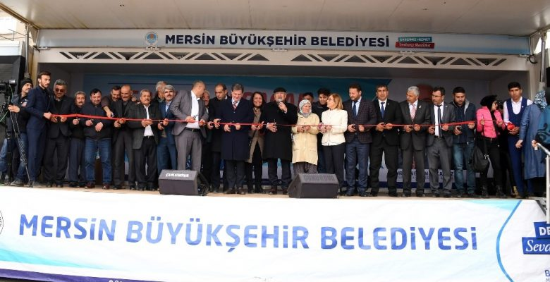 Başkan Kocamaz, Gülnar'da Teknik Hizmetler Yerleşkesini hizmete açtı