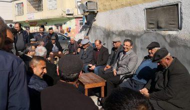 Başkan Pamuk, mahalle ziyaretlerini sürdürüyor