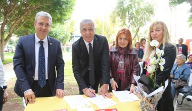 Başkan Tarhan, 'Doğa Dostu Belediye Başkanı Taahhütnamesi'ni imzaladı