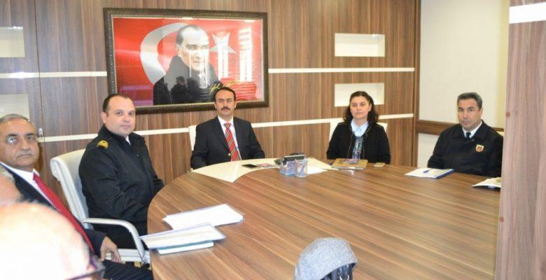 Bozyazı'da Seçim Güvenliği Toplantısı yapıldı