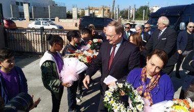 Büyükelçiler AB Bilim Karavanı'nı ziyaret etti