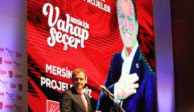 CHP Büyükşehir Adayı Seçer projelerini anlattı