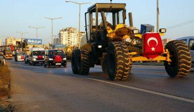 Erdemli Belediyesi, 10 yılda araç sayısını 215'e çıkardı