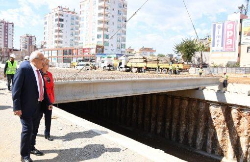 Kuvayi Milliye Anıt Katlı Kavşağı'nın yüzde 70'i tamamlandı