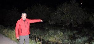 Mersin'de dere taştı, bahçeler ve seralar su altında kaldı