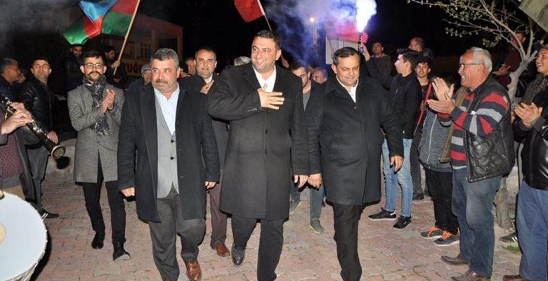 Mut'ta seçimi MHP'li Belediye Başkan adayı Şeker kazandı