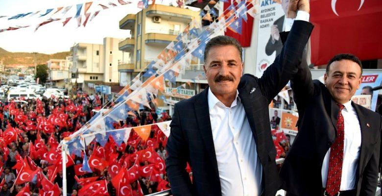 """Tuna: """"13 ilçe ve Büyükşehirde zafer yazacağız"""""""