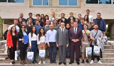 Vali Su, 12 farklı ülkeden gençlik liderlerini ağırladı