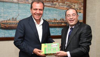 ABD Adana Konsolosu Baez, Başkan Seçer'i ziyaret etti