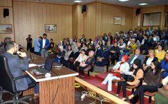Akdeniz Belediyesi'nden personele iş güvenliği eğitimi