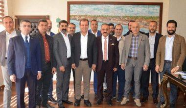 ASKON Şube Başkanı Arslan'dan belediye başkanlarına 'hayırlı olsun' ziyareti