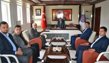 Başkan Çetinkaya, Kaymakam Taşdan'dan destek istedi
