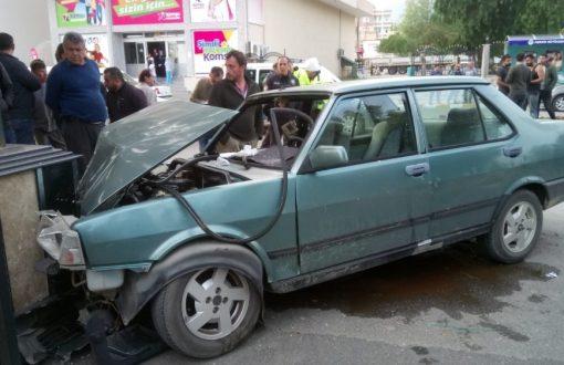 Bozyazı'da trafik kazasında bir kişi yaralandı