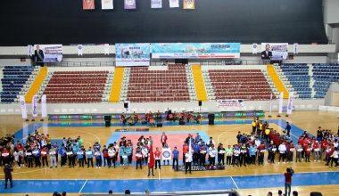 İşitme Engelliler Türkiye Şampiyonaları Mersin'de başladı