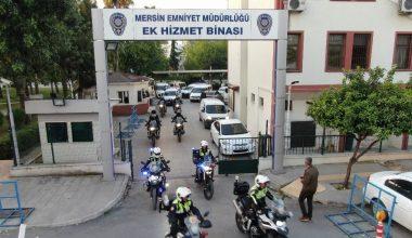 Mersin'de torbacılara yönelik 'süpürme' operasyonu